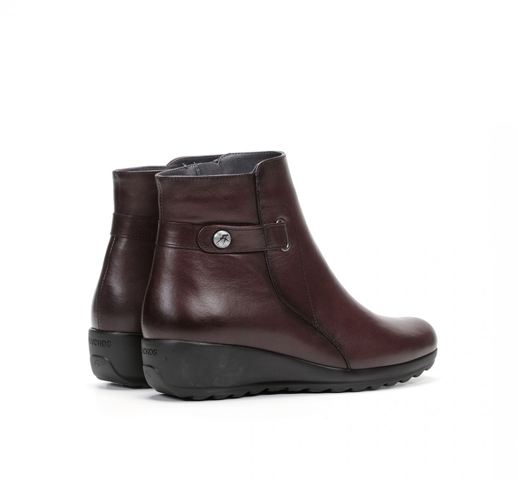 CHARIS 9810 Sugar Leather Ankle Boots
