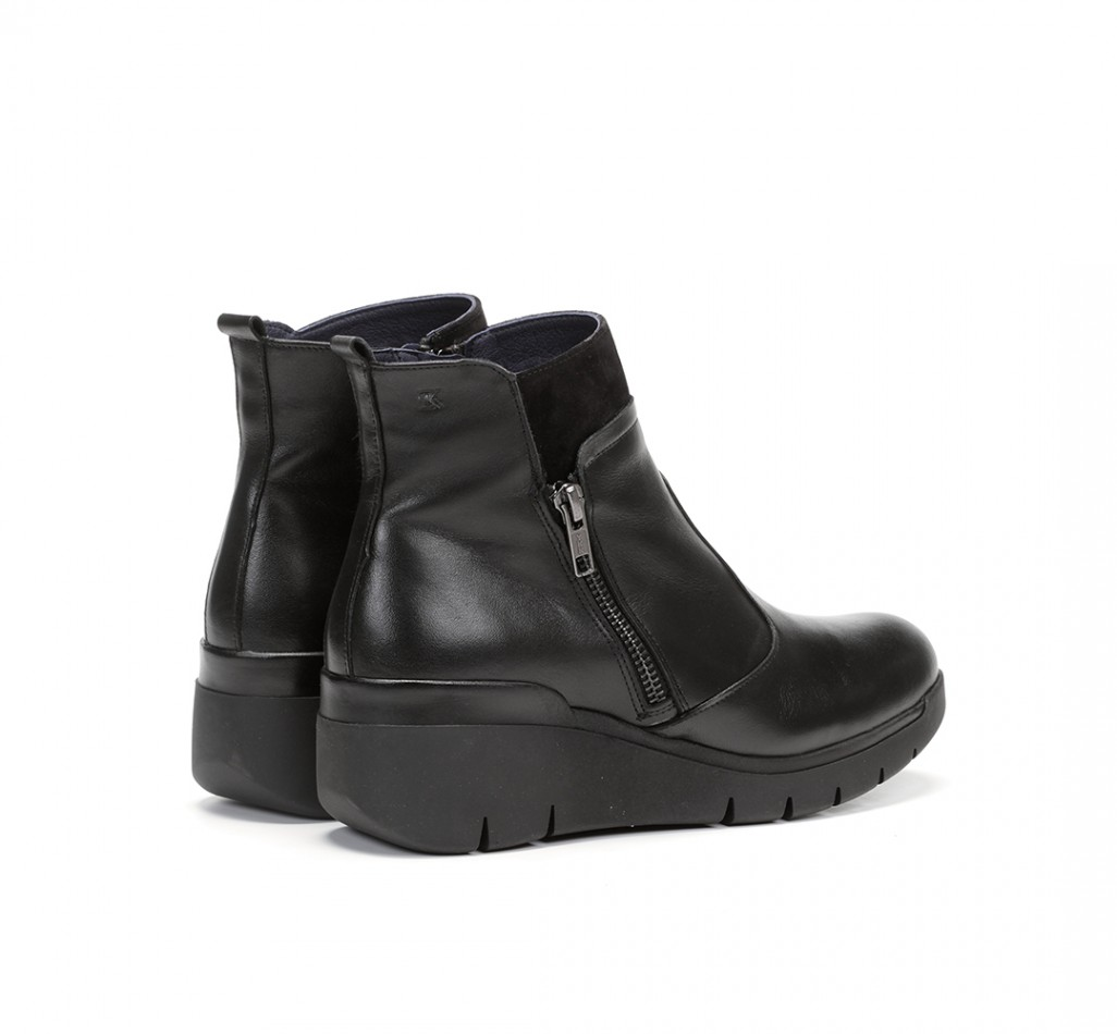SUSAN F0356 Sugar Leather Ankle Boots
